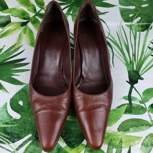 Bruno Magli Brown Pumps Heels 8
